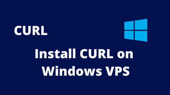 install curl on windows vps