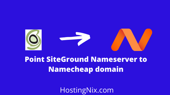 add siteground nameservers to namecheap domain