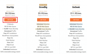 covind-19 offer on siteground hosting plan