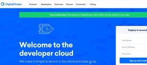 digital ocean cloud hosting platform