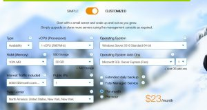 kamatera windows cloud VPS hosting