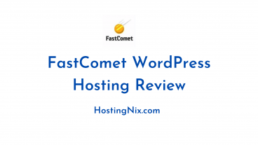 FastComet WordPress Hosting Review
